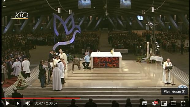 Messe des sacrements de l'initiation chrétienne
