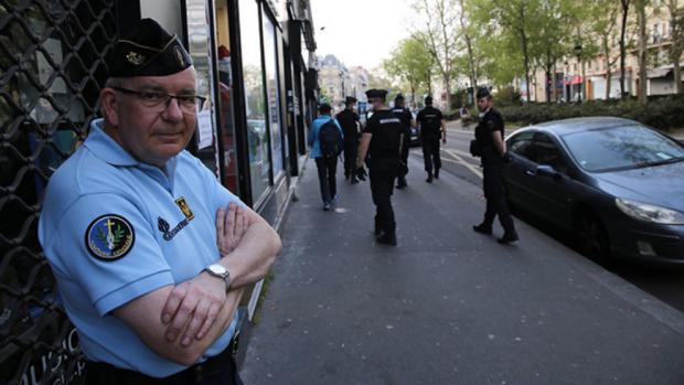 P. Bertrand Sartorius, aumônier de Gendarmerie