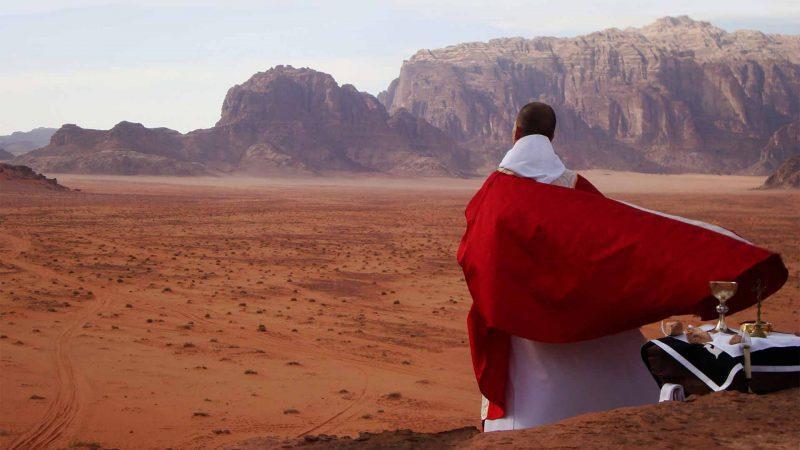 Père Fresson messe désert