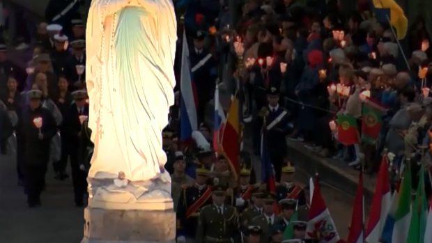 Vierge de Lourdes au PMI